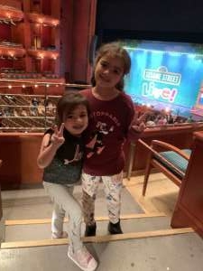 Raynni attended Sesame Street Live! Make Your Magic - 6 PM Show on Oct 4th 2019 via VetTix