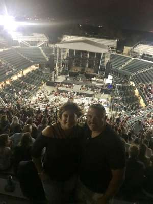 David attended Toby Keith With American Idol Winner Laine Hardy on Oct 5th 2019 via VetTix