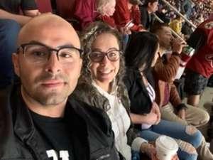 Gean attended Arizona Coyotes vs. Nashville Predators - NHL on Oct 17th 2019 via VetTix