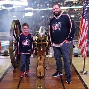 Josh attended Columbus Blue Jackets vs. Anaheim Ducks - NHL on Oct 11th 2019 via VetTix