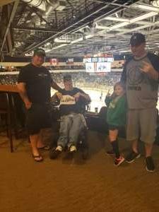 Dale attended Texas Stars vs Manitoba Moose - AHL on Oct 5th 2019 via VetTix