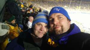 Corrina-Current EMT attended Green Bay Packers vs. Detroit Lions - NFL on Oct 14th 2019 via VetTix