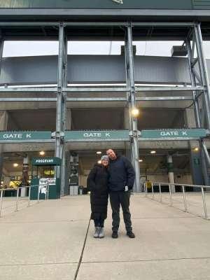 Brandon attended Michigan State Spartans vs. Maryland - NCAA Football on Nov 30th 2019 via VetTix