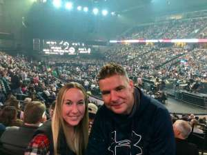Jeromy attended Eric Church: Double Down Tour on Oct 4th 2019 via VetTix