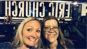 Jayme attended Eric Church: Double Down Tour on Oct 4th 2019 via VetTix