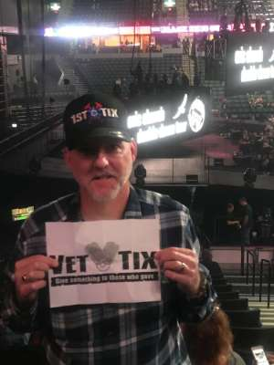 Keith attended Eric Church: Double Down Tour on Oct 4th 2019 via VetTix