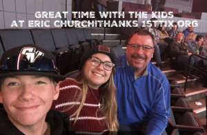 Damian attended Eric Church: Double Down Tour on Oct 4th 2019 via VetTix