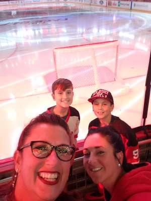 Laura attended New Jersey Devils vs. Edmonton Oilers - NHL on Oct 10th 2019 via VetTix