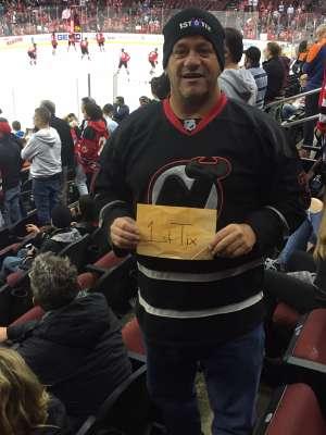 Scott attended New Jersey Devils vs. Edmonton Oilers - NHL on Oct 10th 2019 via VetTix