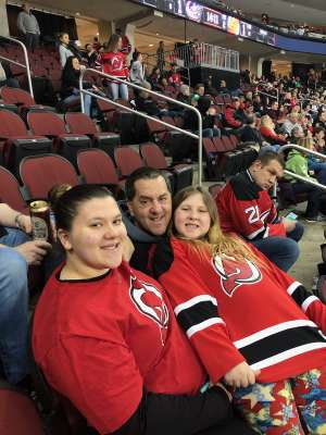 Tony attended New Jersey Devils vs. Florida Panthers - NHL on Oct 14th 2019 via VetTix
