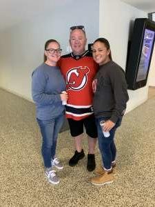 Joanna attended New Jersey Devils vs. Florida Panthers - NHL on Oct 14th 2019 via VetTix