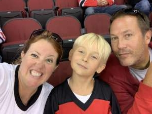 Nicole attended New Jersey Devils vs. Florida Panthers - NHL on Oct 14th 2019 via VetTix
