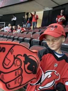 PK attended New Jersey Devils vs. Florida Panthers - NHL on Oct 14th 2019 via VetTix