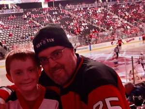 Charles attended New Jersey Devils vs. Florida Panthers - NHL on Oct 14th 2019 via VetTix