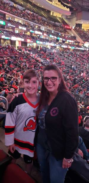 Laura attended New Jersey Devils vs. Florida Panthers - NHL on Oct 14th 2019 via VetTix