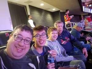 Anthony attended New Jersey Devils vs. Florida Panthers - NHL on Oct 14th 2019 via VetTix