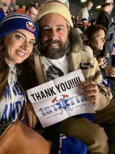 Brian attended New York Islanders vs. Washington Capitals - NHL Home Opener -** Rally Towel Night ** on Oct 4th 2019 via VetTix