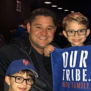 Frank attended New York Islanders vs. Washington Capitals - NHL Home Opener -** Rally Towel Night ** on Oct 4th 2019 via VetTix