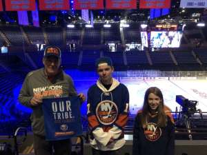 Erik attended New York Islanders vs. Washington Capitals - NHL Home Opener -** Rally Towel Night ** on Oct 4th 2019 via VetTix