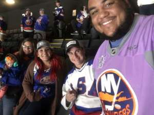 James attended New York Islanders vs. Washington Capitals - NHL Home Opener -** Rally Towel Night ** on Oct 4th 2019 via VetTix