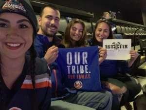 Christopher attended New York Islanders vs. Washington Capitals - NHL Home Opener -** Rally Towel Night ** on Oct 4th 2019 via VetTix