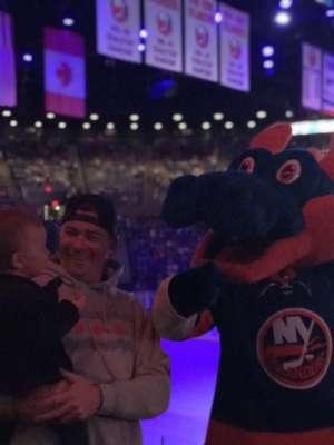 Michael attended New York Islanders vs. Washington Capitals - NHL Home Opener -** Rally Towel Night ** on Oct 4th 2019 via VetTix