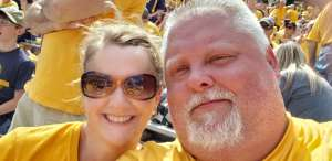 Richard attended West Virginia Mountaineers vs. Iowa State - NCAA Football on Oct 12th 2019 via VetTix