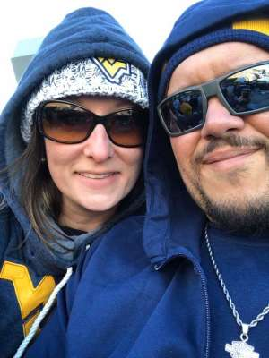 kenneth attended West Virginia Mountaineers vs. Iowa State - NCAA Football on Oct 12th 2019 via VetTix