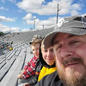 Charles attended West Virginia Mountaineers vs. Iowa State - NCAA Football on Oct 12th 2019 via VetTix