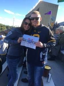 Jared attended West Virginia Mountaineers vs. Iowa State - NCAA Football on Oct 12th 2019 via VetTix
