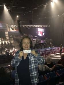 Audrie attended Clint Black on Oct 12th 2019 via VetTix