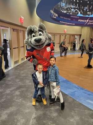 Pedro attended Hartford Wolf Pack vs. Rochester Americans - AHL on Oct 13th 2019 via VetTix
