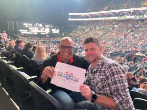 Renard attended Eric Church: Double Down Tour - Friday on Oct 11th 2019 via VetTix