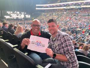 David attended Eric Church: Double Down Tour - Friday on Oct 11th 2019 via VetTix
