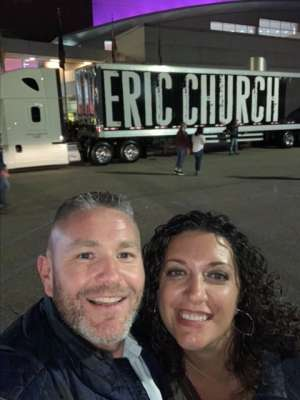 Mark attended Eric Church: Double Down Tour - Friday on Oct 11th 2019 via VetTix