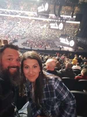 Josh attended Eric Church: Double Down Tour - Saturday on Oct 12th 2019 via VetTix