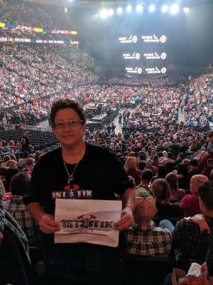 Joann attended Eric Church: Double Down Tour - Saturday on Oct 12th 2019 via VetTix