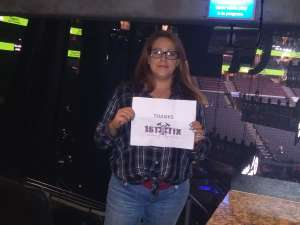 Vanessa attended Eric Church: Double Down Tour - Saturday on Oct 12th 2019 via VetTix