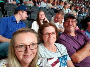 Stacey attended Eric Church: Double Down Tour - Saturday on Oct 12th 2019 via VetTix