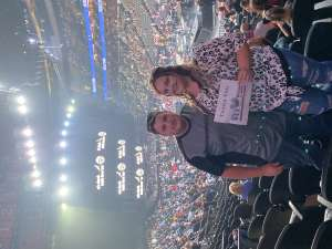 Tianna attended Eric Church: Double Down Tour - Saturday on Oct 12th 2019 via VetTix