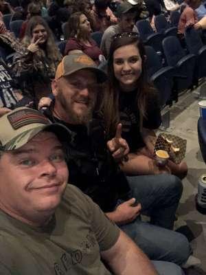 Tim attended Brantley Gilbert: not Like US Tour on Oct 11th 2019 via VetTix