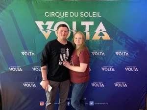 Timothy attended Cirque Du Soleil - Volta - 5pm Show on Oct 14th 2019 via VetTix