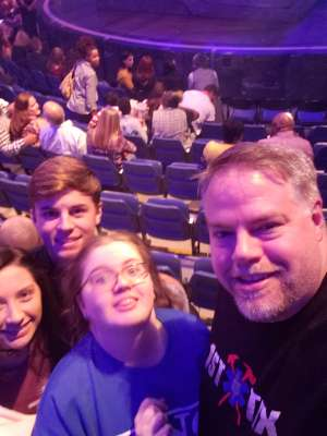 David attended Cirque Du Soleil - Volta - 5pm Show on Oct 14th 2019 via VetTix