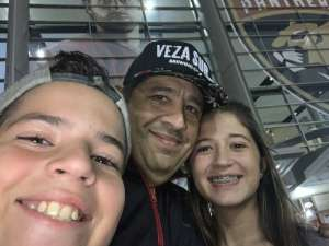 Carlos attended Florida Panthers vs. Carolina Hurricanes - NHL on Oct 8th 2019 via VetTix