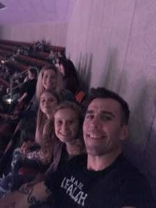 Matt attended Carrie Underwood: the Cry Pretty Tour 360 on Oct 17th 2019 via VetTix