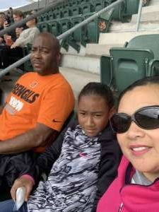 Aundray attended Cincinnati Bengals vs. Arizona Cardinals - NFL on Oct 6th 2019 via VetTix