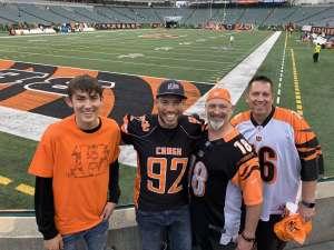 Jerry attended Cincinnati Bengals vs. Arizona Cardinals - NFL on Oct 6th 2019 via VetTix