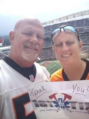 LARRY attended Cincinnati Bengals vs. Arizona Cardinals - NFL on Oct 6th 2019 via VetTix