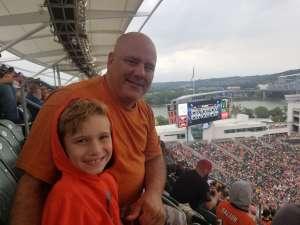 Ben attended Cincinnati Bengals vs. Arizona Cardinals - NFL on Oct 6th 2019 via VetTix