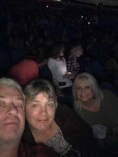 Rene attended Carrie Underwood - the Cry Pretty Tour 360 on Oct 13th 2019 via VetTix
